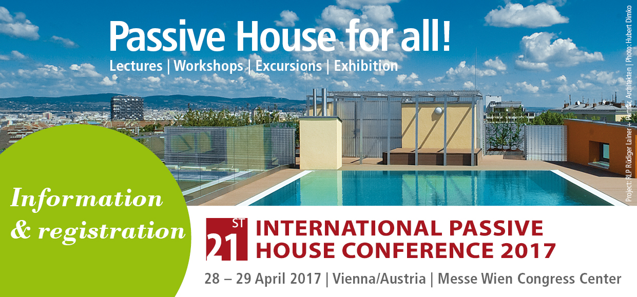 Međunarodna konferencija 21st International Passive House Conference 2017 in Vienna